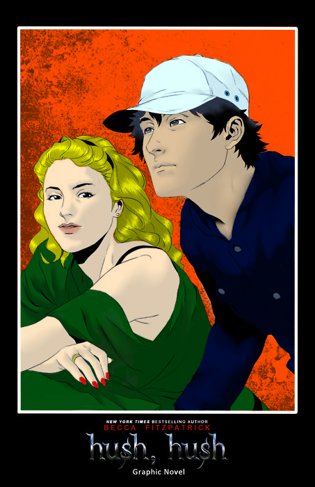 Hush Hush Graphic Novel