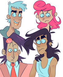 Faces by SpookieSpoon