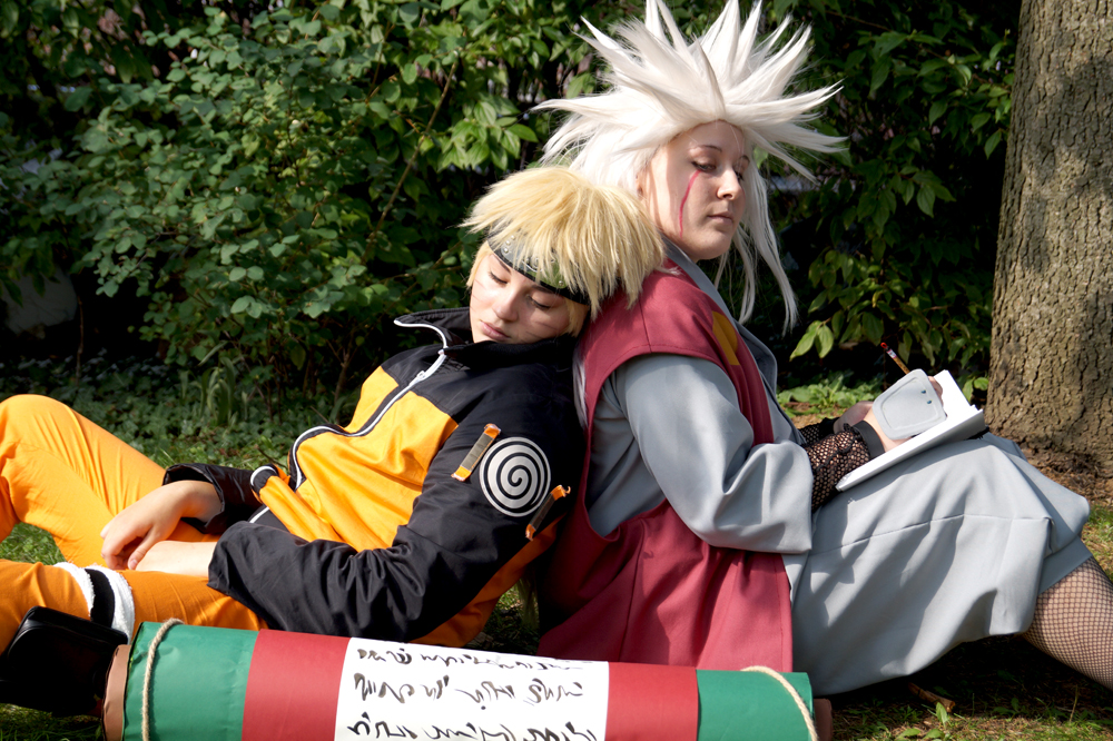 Jiraiya And Naruto Sensei And Student Memorie By Drawigyukochan On Deviantart
