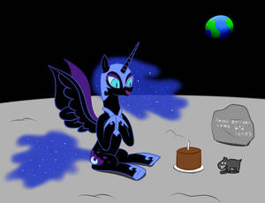 Happy Birthday Nightmare Moon!