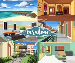 Cerulean - Backgrounds by laniessa