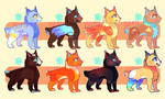Pixie-Bob I ADOPTABLES CATS by TheFROGadoptables
