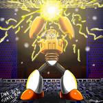 Spark Man - Megaman 3 (by OblivionMrX)