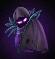Fortnite Ravenskin by artwork-eskobar