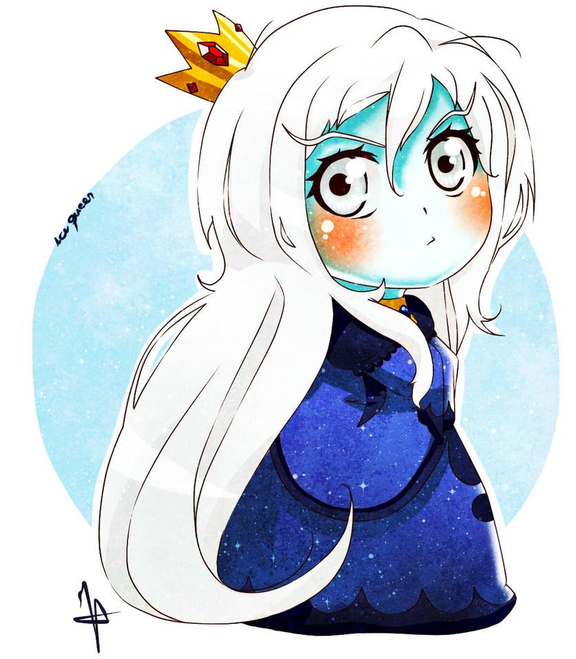 Chibi - Ice Queen by keenann on DeviantArt