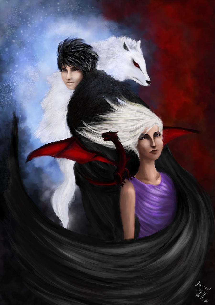 Jon and Dany by 4kat