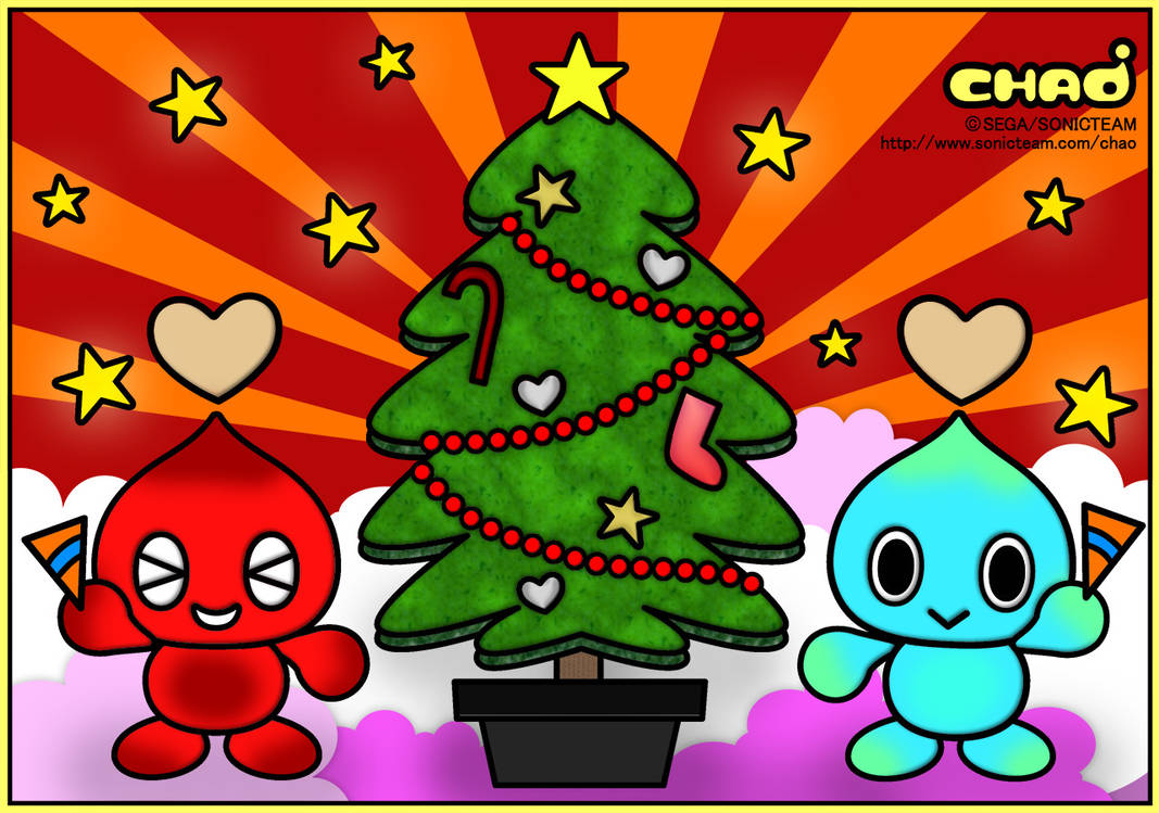 Chao Christmas Colouring