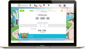 Chinese Grammar Learning on Ninchanese