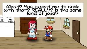 Smug Wendy in Paper Mario