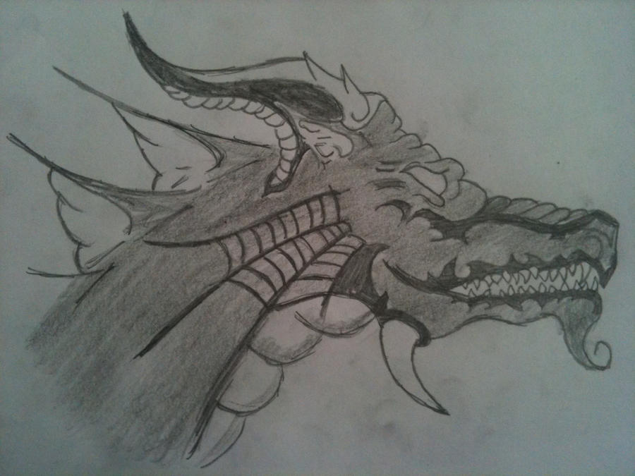 chinese dragon head by cjr12344 on DeviantArt
