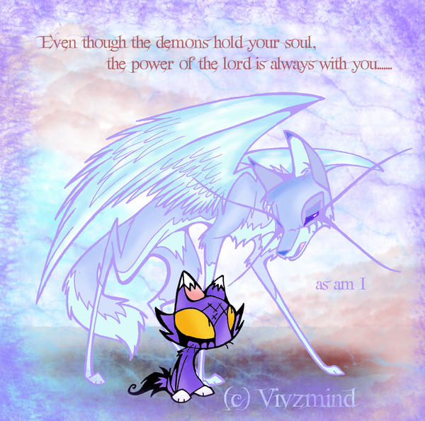 a Guardian Angel by VivzMind