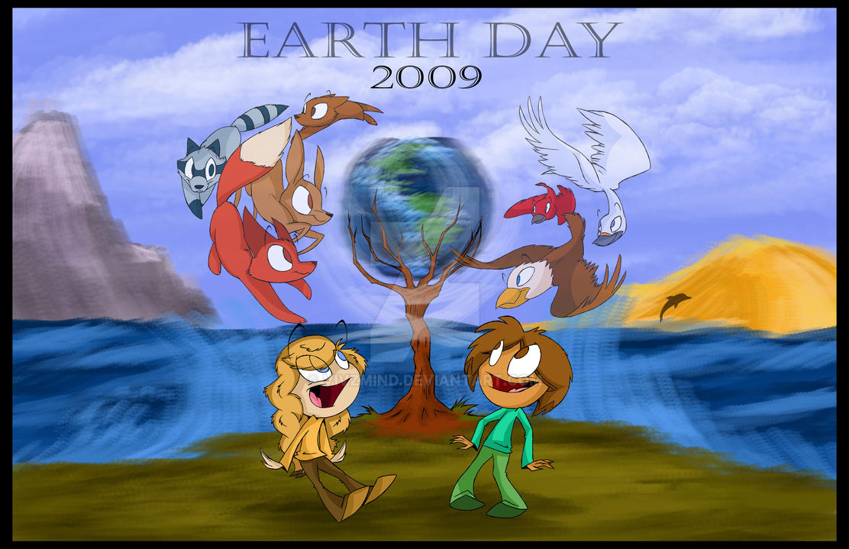 Earth Day 2009- Poster design by VivzMind
