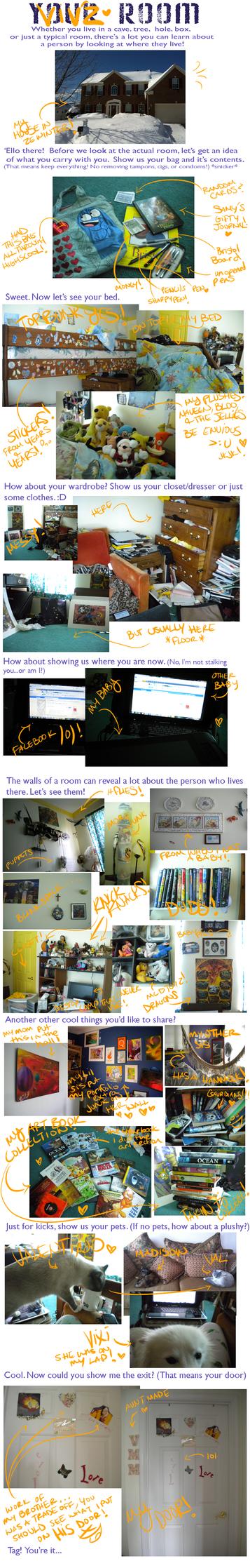 My Room Meme by VivzMind
