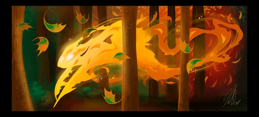 Autumn Day by VivzMind
