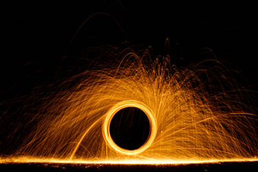 Steel Wool and Fire 3 by Lysendriel