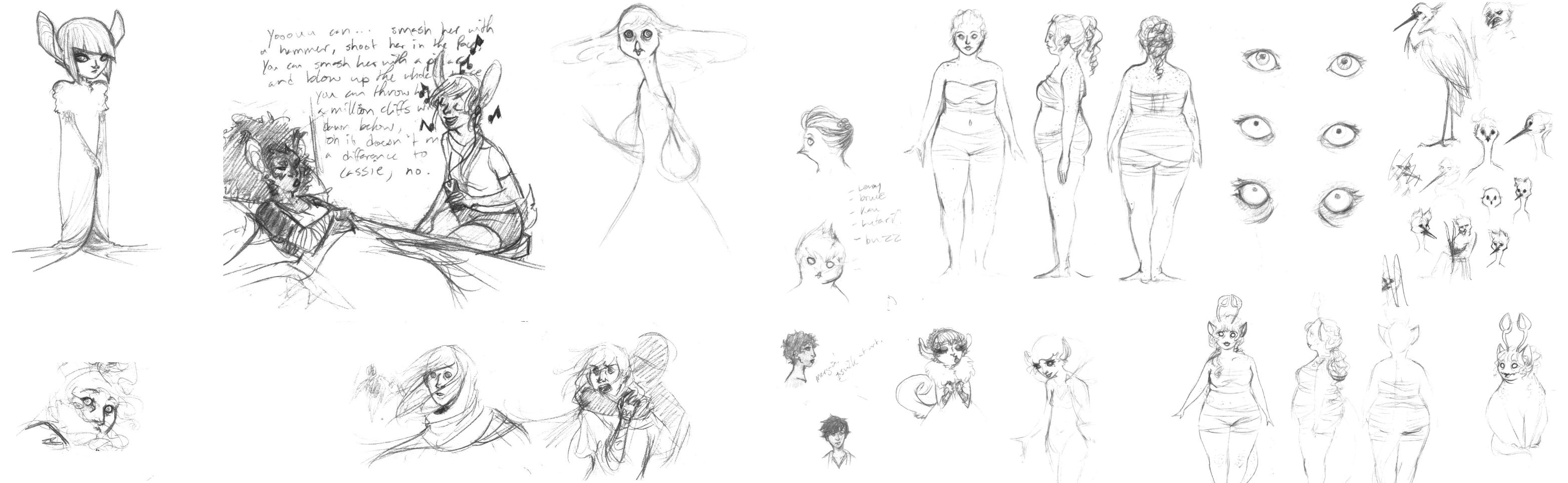 moar sketches!