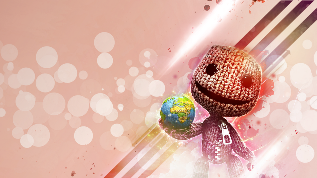 Little Big Planet Wallpaper: Little Big Planet Wallpaper By Dimech On DeviantArt