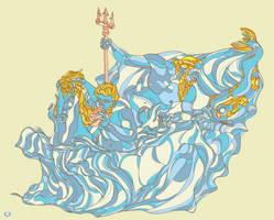 Poseidon's Ride by cigarro-DA