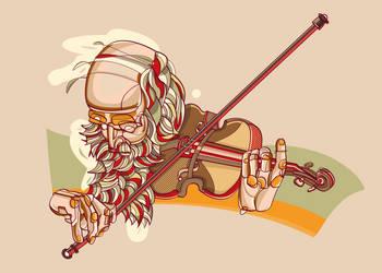 Violinist by cigarro-DA