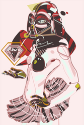 Vader Girl by cigarro-DA