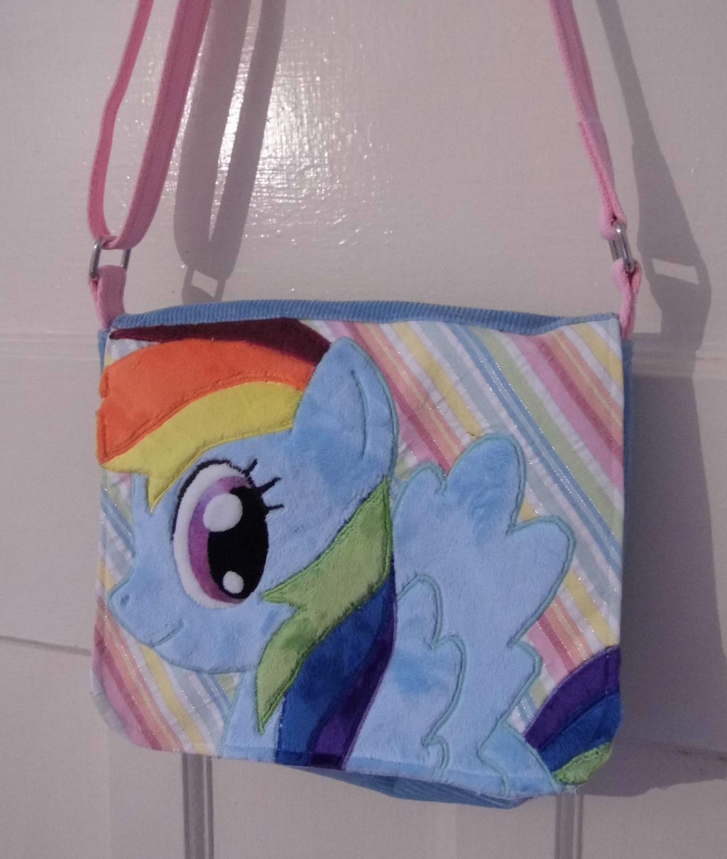 Custom Rainbow Dash bag FOR SALE by angelberries