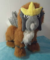 Shiny Entei Jointed plush by angelberries