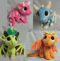 Custom PenDragon Plushies by Truly Stuffed by angelberries