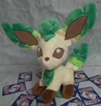 Custom Leafeon Pokemon plush