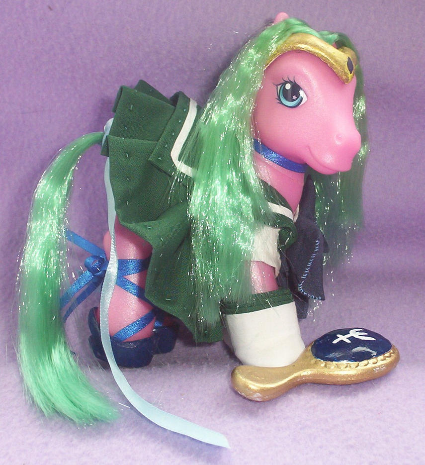 Custom Sailor Neptune Pony by angelberries