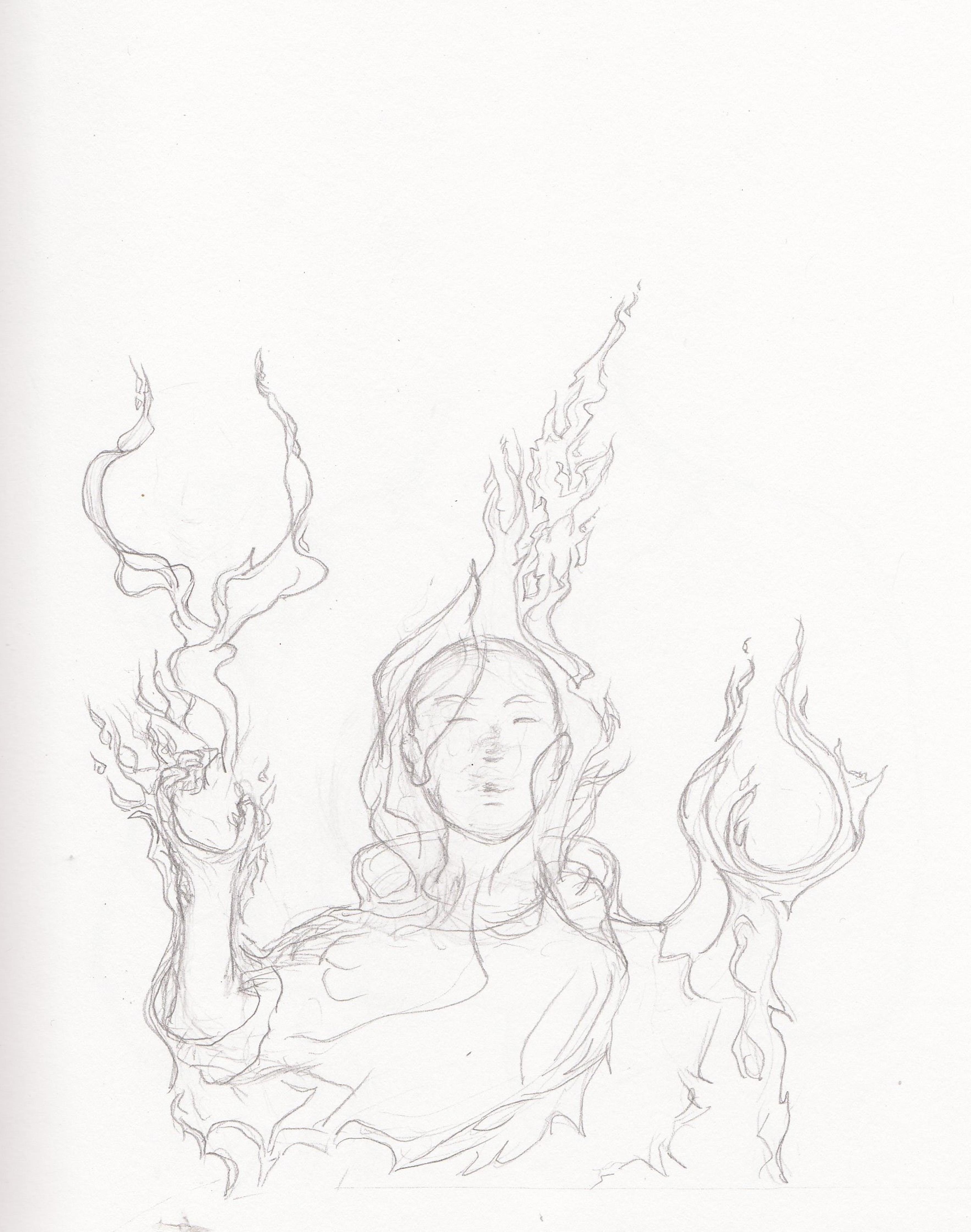 Sktchbk II 2 Holy Fire by TreesAwake
