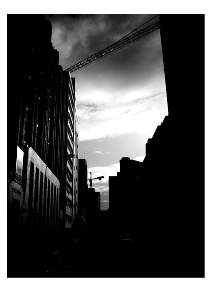 City shadows by BWB