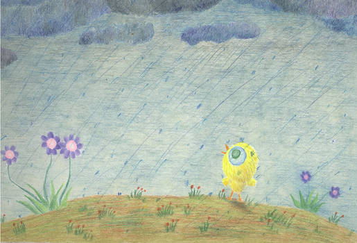 Yolk in the Rain