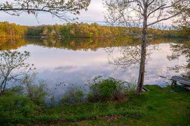 Michigan - Lake House View by SunsetSailor