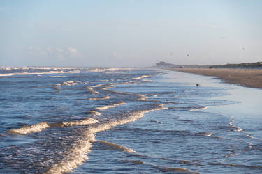 Waves - Mustang Island State Park - Padre Island