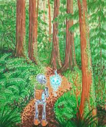 Inktober Day #22: Trail by Mystical-Kaba