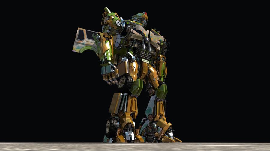 Robot Matte by delestreway