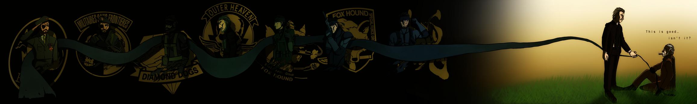 Metal Gear Saga by DarkcanxD