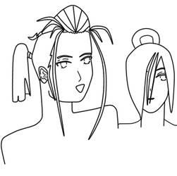 Oishi daughters' wip peek