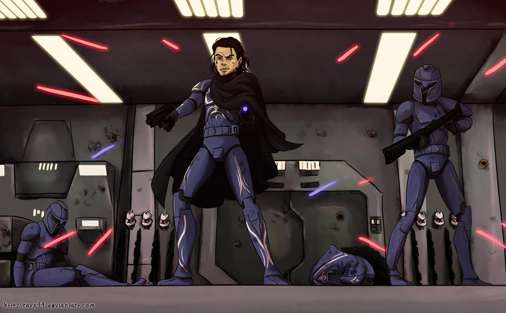 Senate Guards to the Rescue: Rayn44 by TheIrishRogue