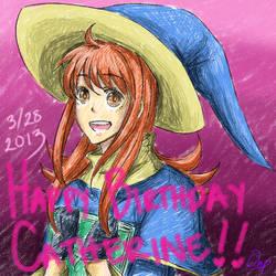 Happy Birthday, Catherine!! 2013