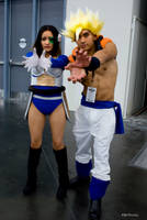 Gogeta and Vegeta by PSRphotos