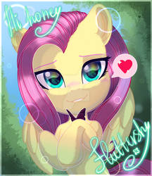 Hi honey, fluttershy ^w^