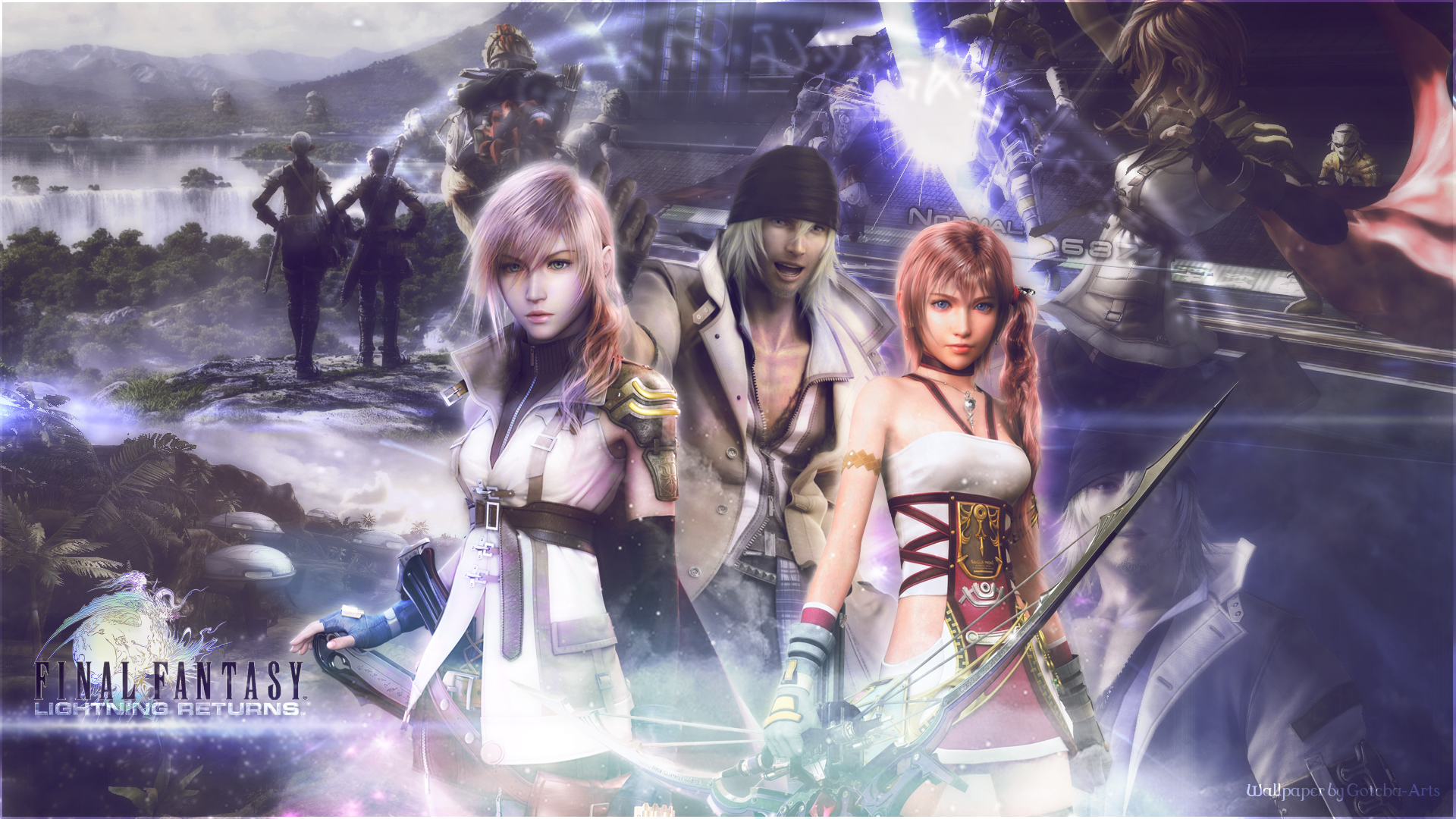 Final fantasy wallpaper lightning returns by corki gfx on deviantart final fantasy wallpaper lightning returns by corki gfx voltagebd Gallery