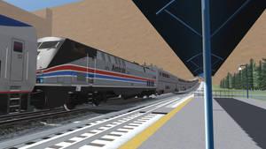 Trainz 2019 2021 Amtrak Southwest Cheif 3