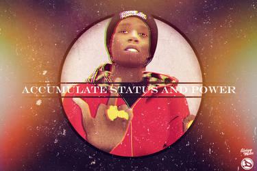 A$AP Rocky Collab by iUniqueMedia