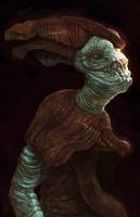 Egyptian Alien by Amphitaman