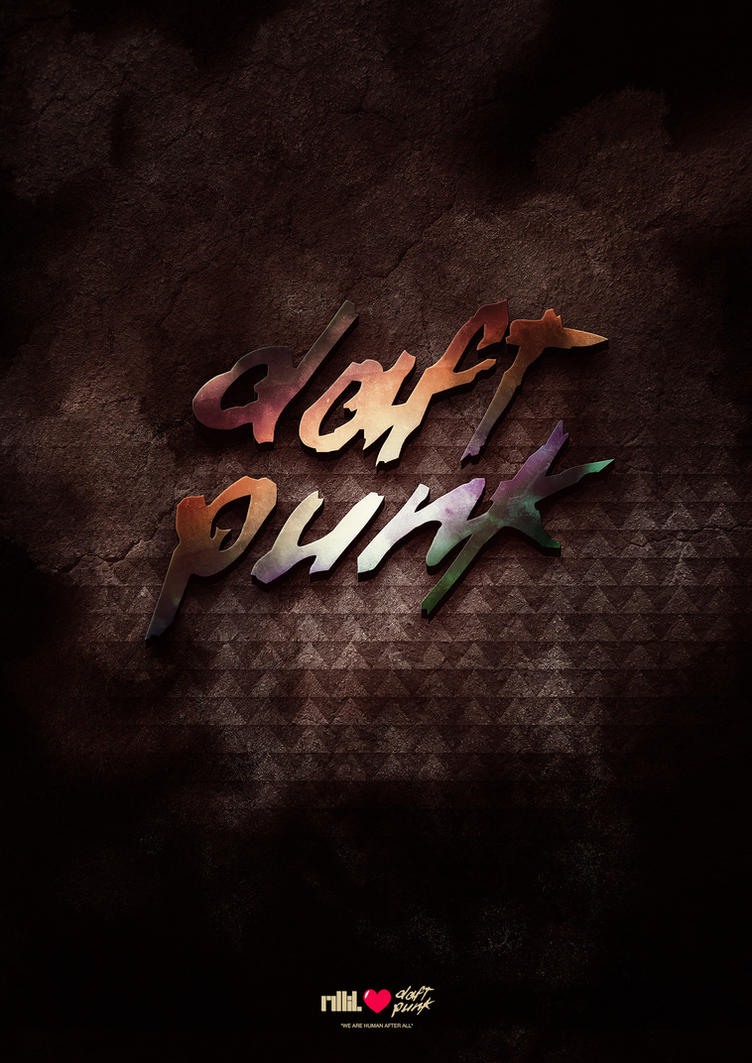 +Daft Punk poster by aparture