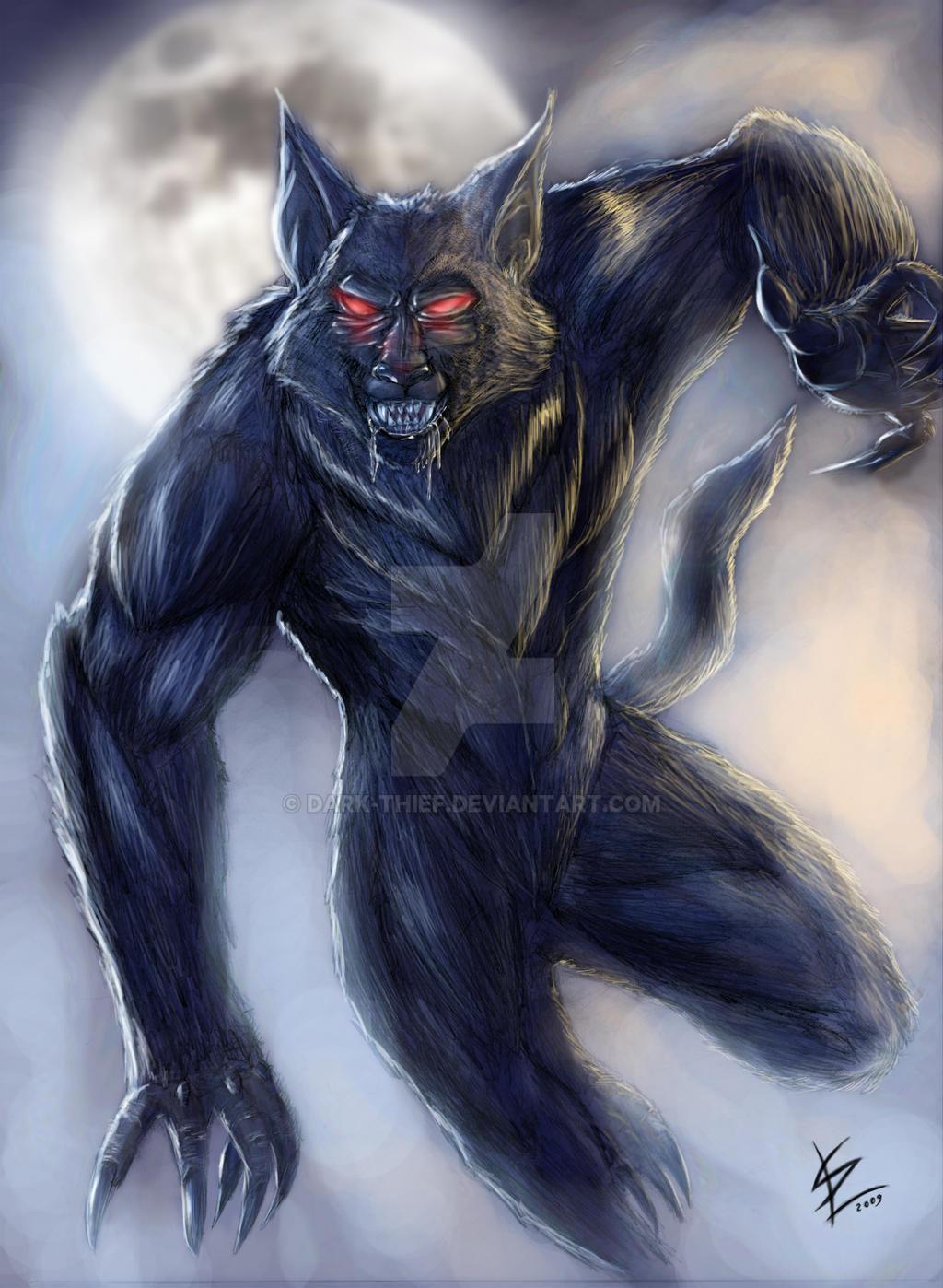 Werewolf by Dark-thief