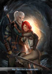 The witcher 2 Geralt and Triss