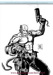 Hellboy inked version